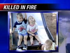 children killed in meth fire