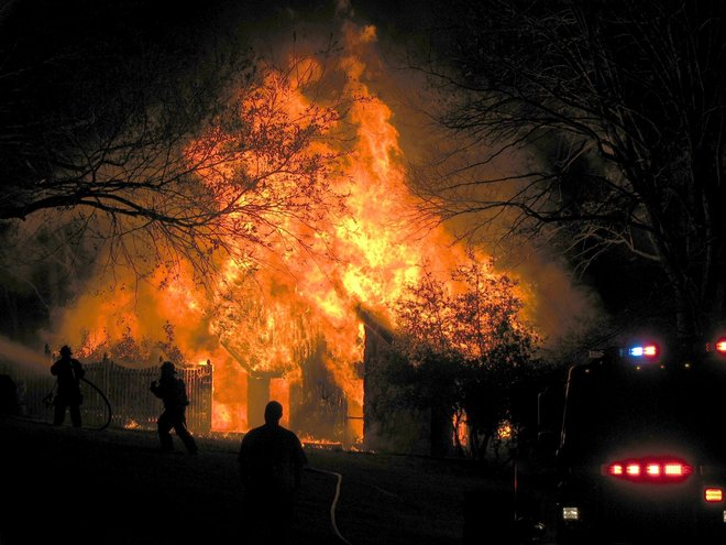 man jailed on arson complaint